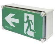 Diffuser - MLEDLPWP Exit - Wall Mount (Running Man - Left Arrow)